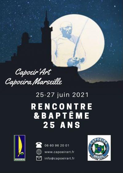 FLYER 25 ans CAPOEIR'ART Rencontre & Baptême